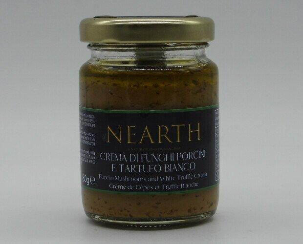 Crema di Funghi Porcini e tartufo. Una delle più vendute! Profumo avvolgente e sapore inconfondibile. Imperdibile!