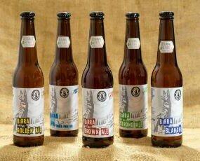 Bottiglie cl 33. Linea completa delle nostre 33 Golden Ale Brown Ale Blanche Strong Ale IPA