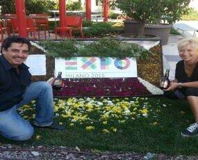 Noi a EXPO MILANO. Il nostro inizio è stato esporre la nostra Birra a Expo... la nascita del CaneNero