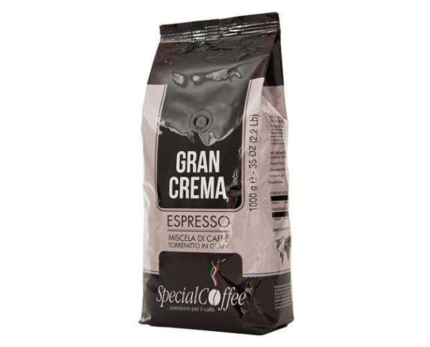 Caffè in Grani.Miscela in grani Gran Crema