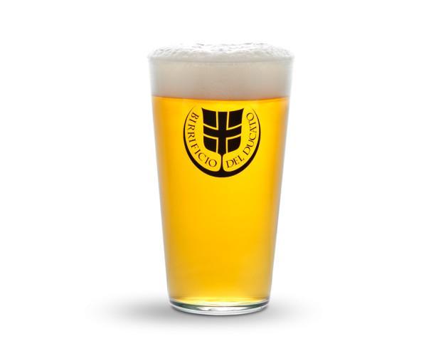 Merchandising. Bicchiere per la birra.