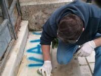 Eliminazione graffiti