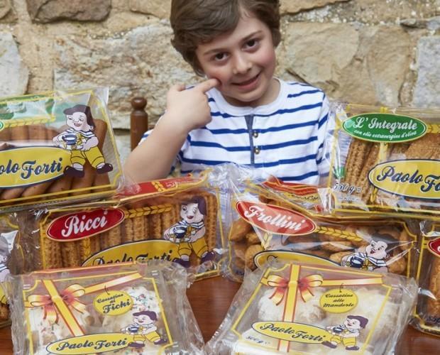 Biscotti.Prodotti siciliani