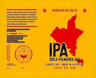 IPA. Birra artigianale, ISola PALMARIA ALE
