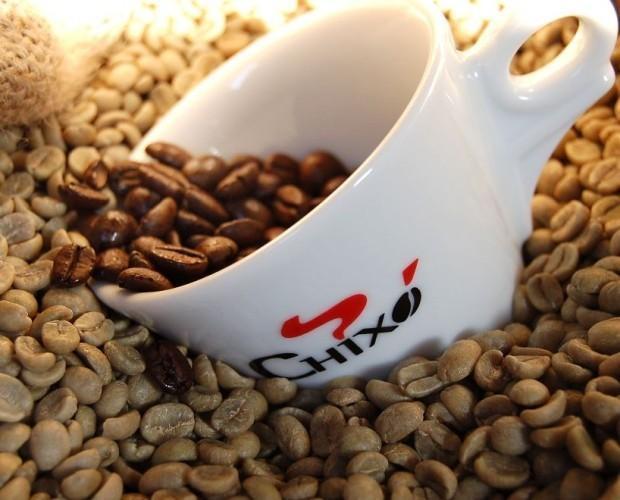 Caffè in grani. Caffè in grani Caffè Chixò