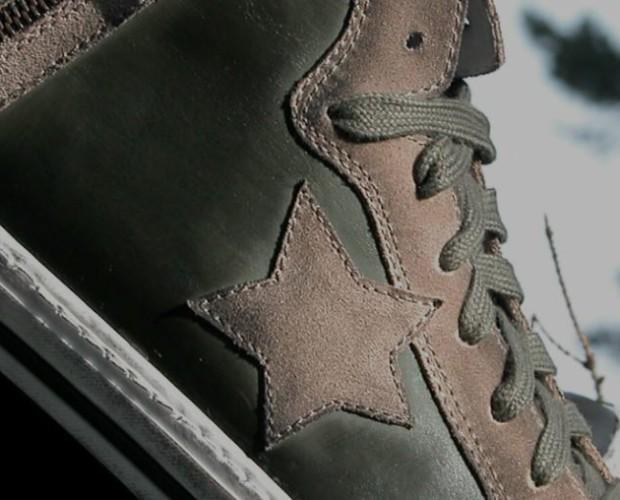 Scarpe da ginnastica. Qualità italiana e materiali selezionati.