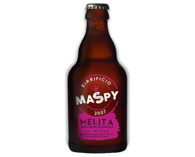 Birra con alcol. Bottiglie di Birra con alcol. Birra aromatizzata al Miele