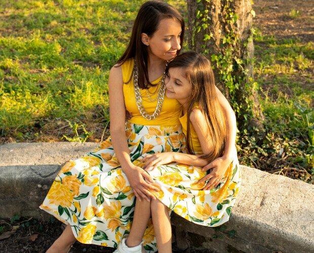 Abbigliamento Coordinato. Abbigliameto coordinato mamma figlia