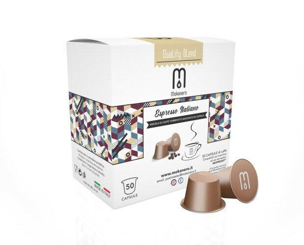 Box capsule. Box 50 capsule compatibili Nespresso