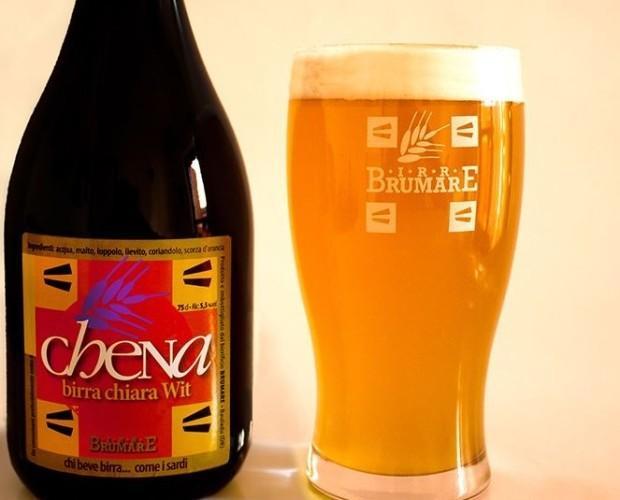 Chena . Birra chiara in stile Witbier