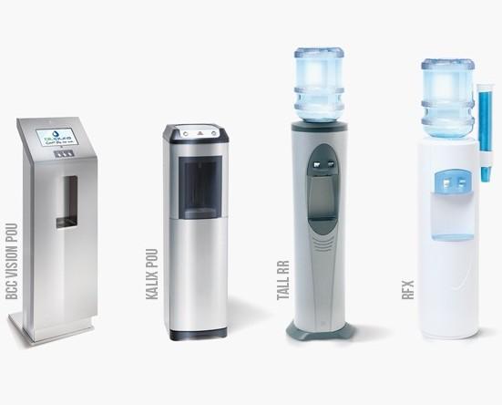 Noleggio Refrigeratori d'acqua.Colonnine differenti per diverse necessità