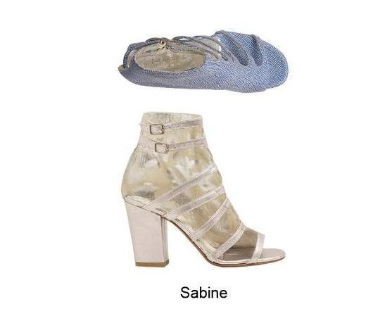 Sabine. Scarpe alte, campionario E'17