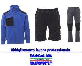 Abbigliamento lavoro. Abbigliamento lavoro professionale personalizzabile con ricami e/o stampe