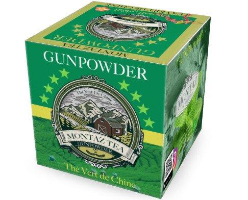 Té Verde Gunpowder. Montaz Tea & Food marchio che offre té verde, qualità Gunpowder 3505AAA  selezionato
