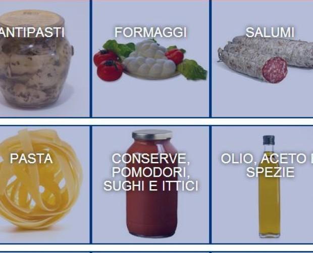 100% Italia. Solo prodotti tipici