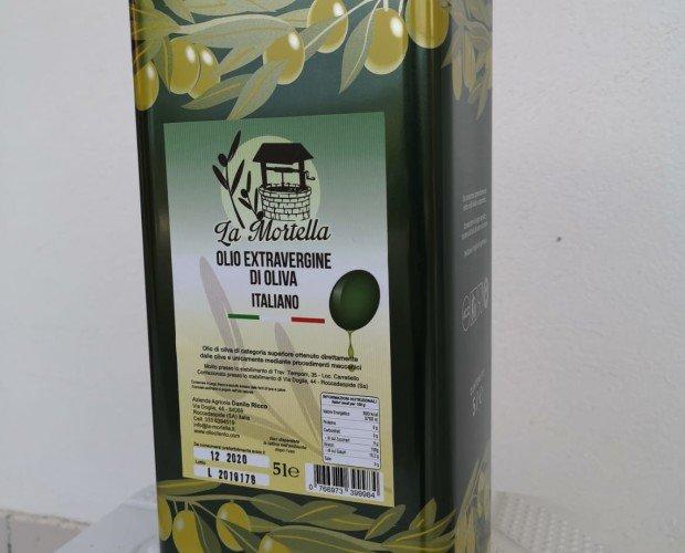 lattina5l. Lattina Olio extravergine di oliva 100% italiano 5 litri