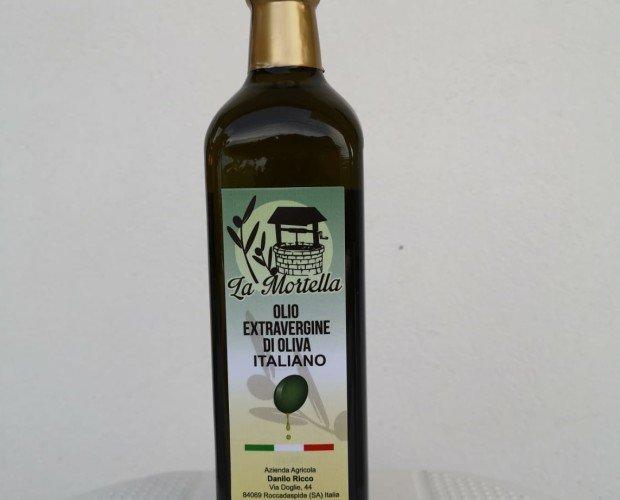 Olio di Oliva in Monodosi.Olio extravergine di olivia Bottiglia da 0.75cl