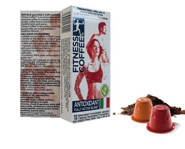FC capsules 10 (3). Capsule compatibili Nespresso Fitness Caffè in astucci da 10 capsule