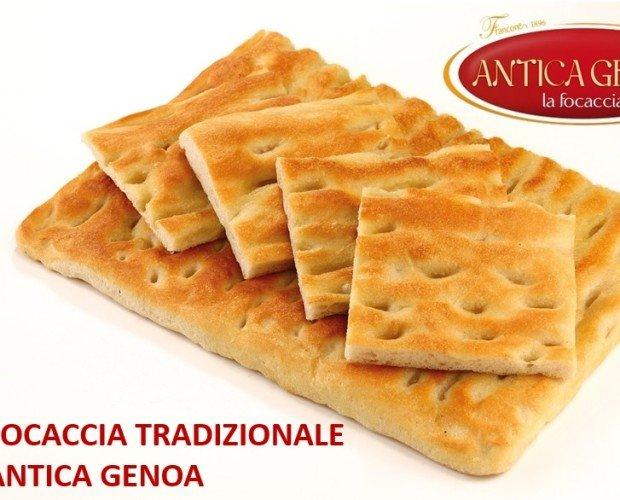 Focaccia Antica Genoa. La vera focaccia genovese, con olio extravergine d'oliva