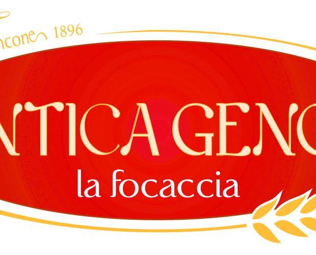 Antica Genoa piatto. Il brand della linea di Focacce precotte surgelate
