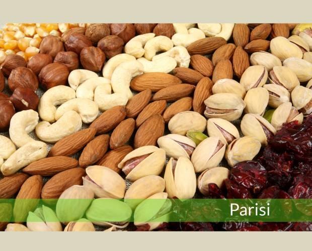 Assortimento frutta secca. Assortimento frutta secca Parisi
