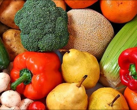Verdura Fresca.Prodotti freschi e buoni