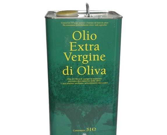 LATTINA 5 LITRI. olio extravergine di oliva classico della sabina,
