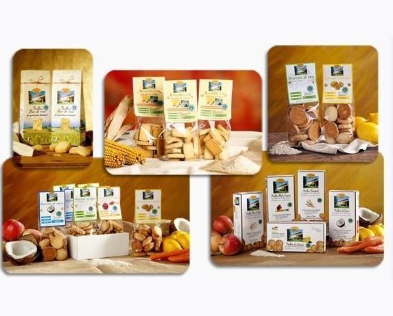 Biscotti.La gamma dei nostri prodotti.