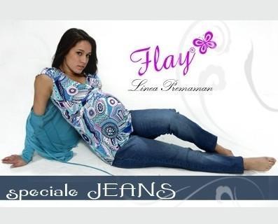 Abbigliamento premaman. Jeans premaman Flay