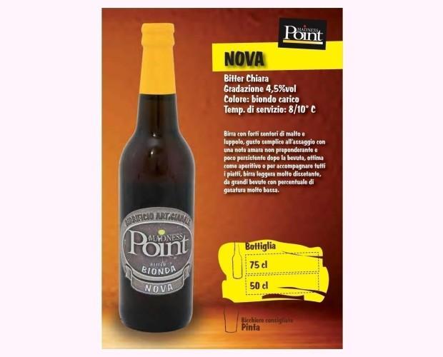 Nova. Birra artigianale in stile Blond Ale.jpg