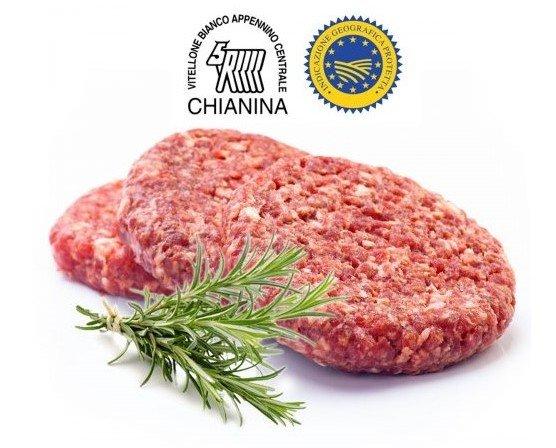Hamburger IGP. Hamburger di Chianina IGP