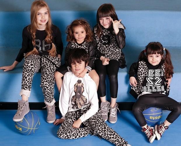 Abbigliamento per bambini. Alla moda ma con praticità.