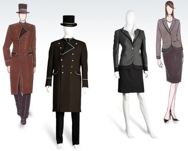 Abbigliamento da lavoro. Per aziende di altissimo livello