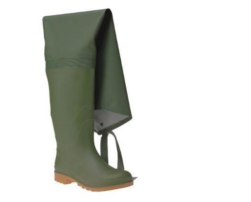 Stivali di gomma. Prodotti in PVC