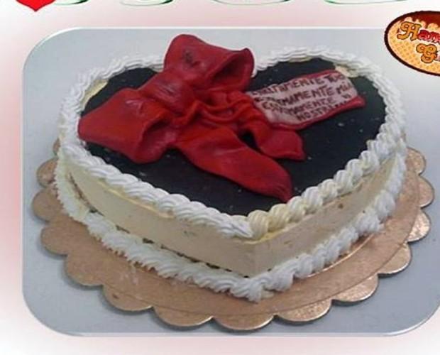 torta. torta cuore