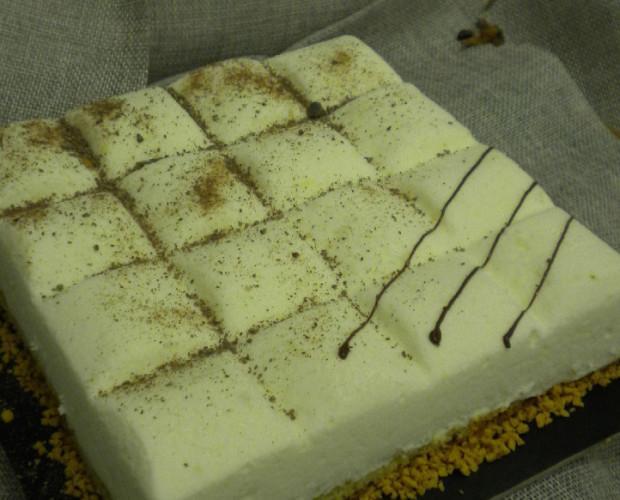 torta. Cioccolato bianco