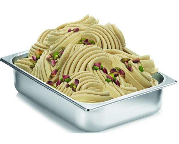 Gelato Artigianale. Gelato Artigianale al gusto di pistacchio