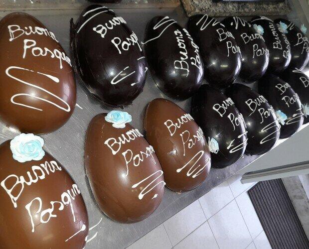 Uova di Pasqua artigianali. Uova di Pasqua artigianali personalizzabili