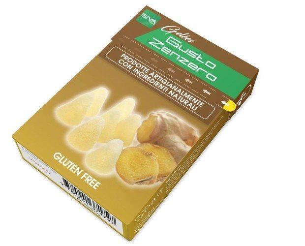 Astuccio con Strap 35 gr Gelees Food Zen. Caramella Gelèes Gr. 35 Gusto ZENZERO