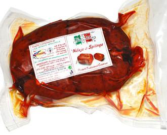 'Nduja di Spilinga. Prodotto tipico di Spilinga, ottima in cucina