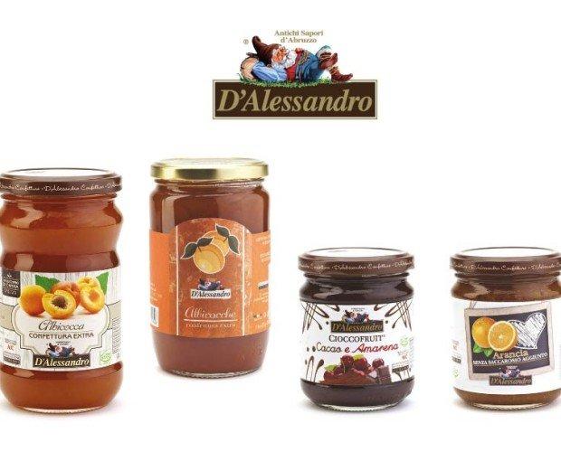 Confetture Marmellat. I prodotti D'Alessandro vengono lavorati da mani esperte con impegno e con amore
