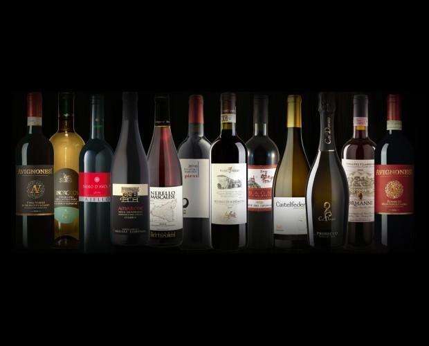 . Assortimento eccellenze vini italiani