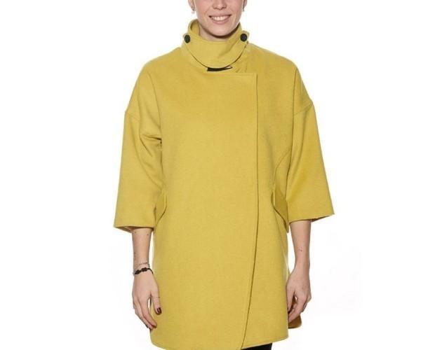 Giacche.Giacca lunga, in giallo della linea Montereggi.