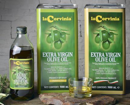 Olio Extravergine di Oliva. Olio Extravergine di Oliva La Corvina