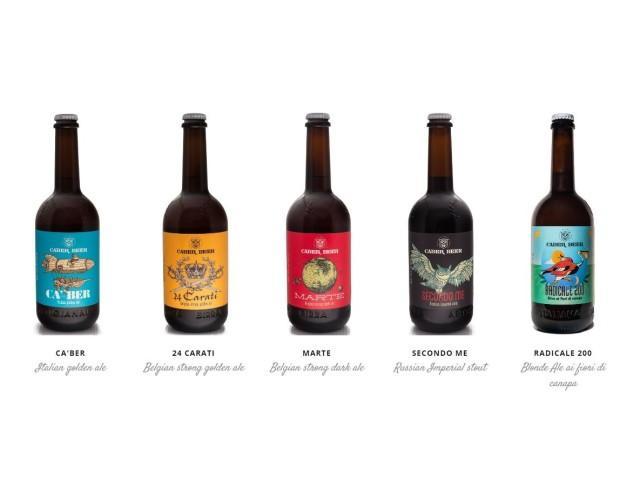 Produzione Artigianale. La gamma completa delle nostre birre.