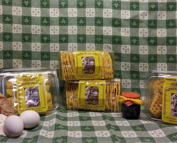 PACKAGING FERRATELLE. La confezione rigida offre praticità e preserva il prodotto interno. Confezioni da 250g.