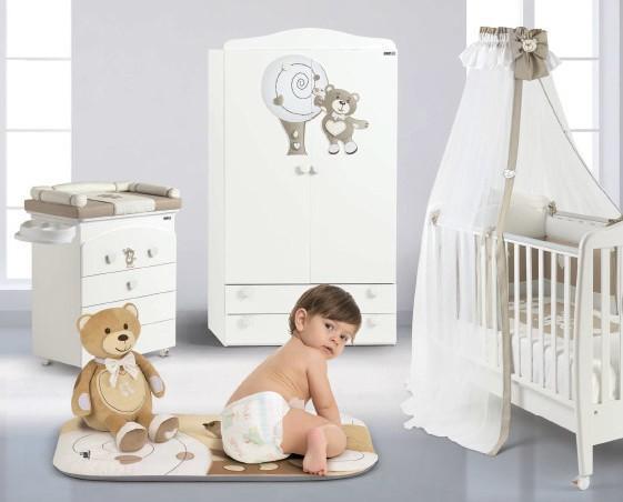 Arredamento per Bebè.Cameretta per bebè