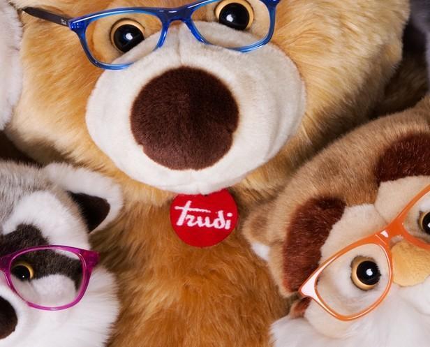 Trudy Eyewear. Prodotti ottici per bambini