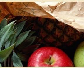 Frutta fresca. Prodotti freschi e di qualità.