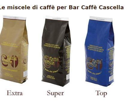 Le miscele per il bar. Linea Bar: Extra Bar, Super Bar, Top Bar.